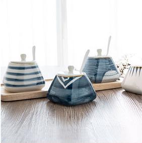 创意日式陶瓷器储物瓶罐